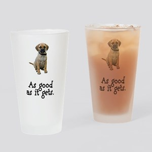 Good Puggle Pint Glass