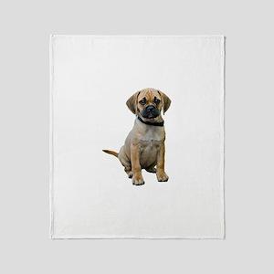 Puggle Throw Blanket