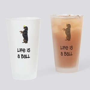 Rottweiler Life Pint Glass