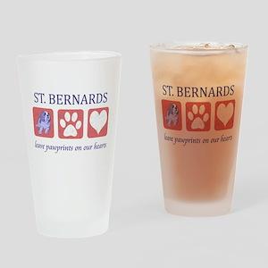 Saint Bernard Lover Pint Glass