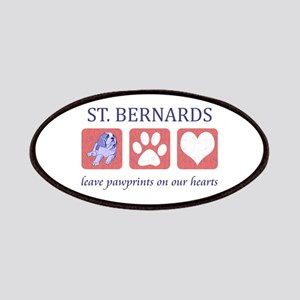 Saint Bernard Lover Patches