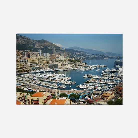 Monte Carlo, France Rectangle Magnet (100 pack)