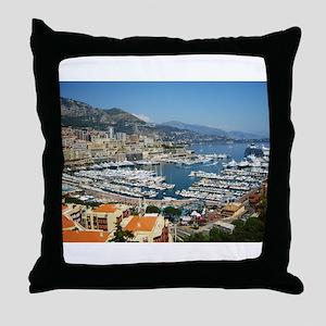 Monte Carlo, France Throw Pillow