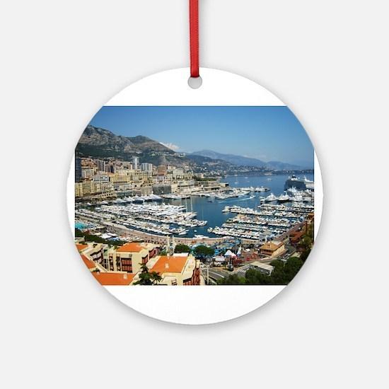 Monte Carlo, France Ornament (Round)