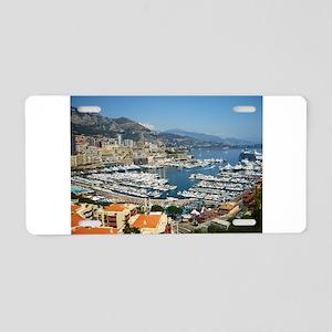 Monte Carlo, France Aluminum License Plate