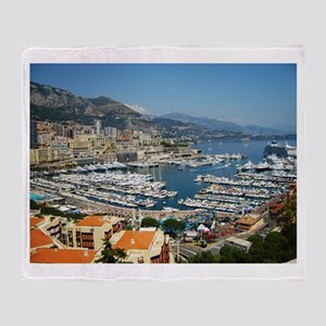 Monte Carlo, France Throw Blanket