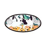 Appaloosa Horse Dance Patches