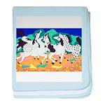 Appaloosa Horse Dance baby blanket