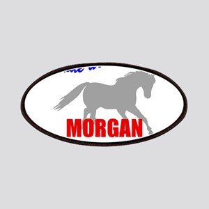 Ride With Pride Morgan Horse Patches