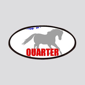 Ride With Pride Quarter Horse Patches