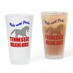 Pride Tennessee Walking Horse Pint Glass