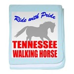 Pride Tennessee Walking Horse baby blanket