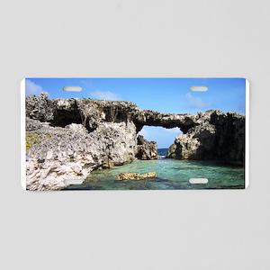 Antigua, Virgin Islands Aluminum License Plate