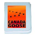 Canada Goose baby blanket