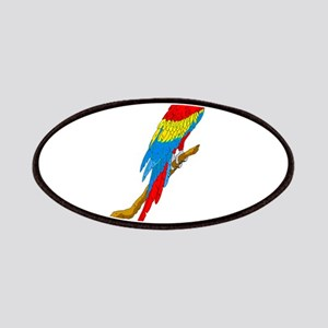 Scarlet Macaw Patches