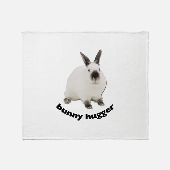 Bunny Hugger Throw Blanket