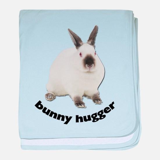 Bunny Hugger baby blanket