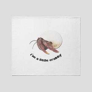 Hermit Crab Photo Throw Blanket