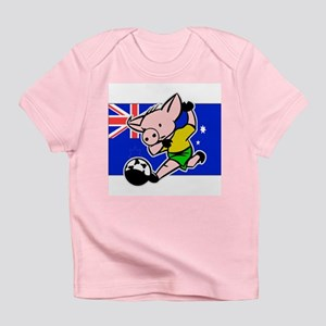 Australia Soccer Pigs Infant T-Shirt