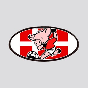 Denmark Soccer Pigs Patches