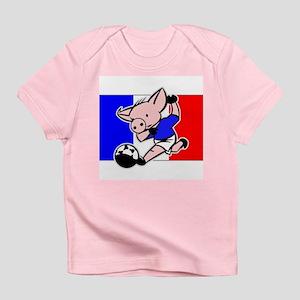 France Soccer Pigs Infant T-Shirt