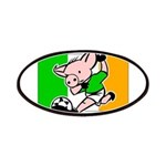 Ireland Soccer Pigs Patches