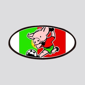 Portugal Soccer Pigs Patches