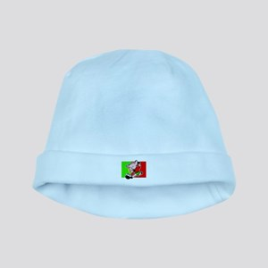 Portugal Soccer Pigs baby hat