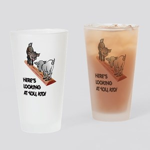 Cute Goat Pint Glass