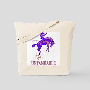 Untameable Tote Bag (Design both sides)