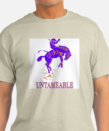 Untameable Ash Grey T-Shirt