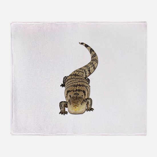 Blue Tongue Skink Throw Blanket