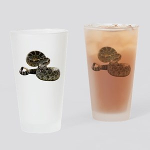 Rattlesnake Photo Pint Glass
