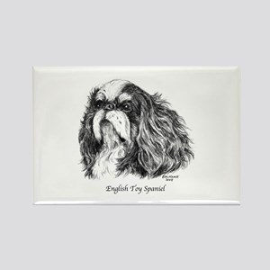 English Toy Spaniel Rectangle Magnet