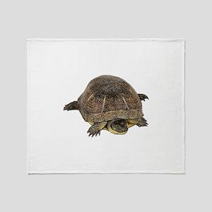 Blandings Turtle Throw Blanket