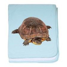 Blandings Turtle baby blanket