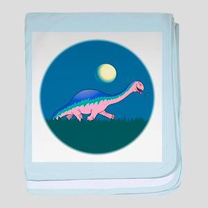 Funny Dinosaur baby blanket