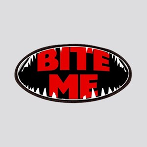 Bite Me Shark Patch