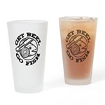 Get Reel Go Fish Pint Glass