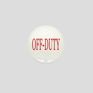 Off-Duty (Red) Mini Button