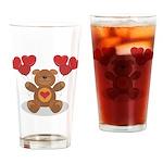 Teddy Bear Pint Glass