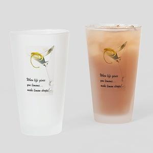 Lemon Drop Martini Pint Glass