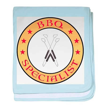 BBQ Specialist baby blanket