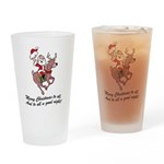 Merry Christmas To All Pint Glass