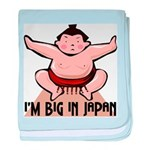I'm Big In Japan baby blanket