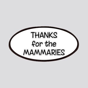 Thanks For The Mammaries Patches