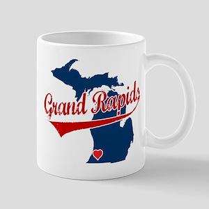 Grand Rapids, where the heart Mug