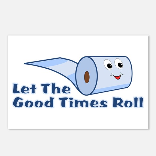 Let The Good Times Roll Postcards (Package of 8)
