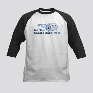 Let The Good Times Roll Kids Baseball Jersey