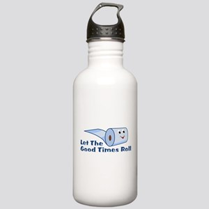 Let The Good Times Roll Stainless Water Bottle 1.0